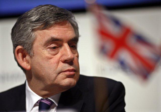 Jóhanna Sigurðardóttir ræddi við Gordon Brown í dag.<br /><em>Reuters</em>