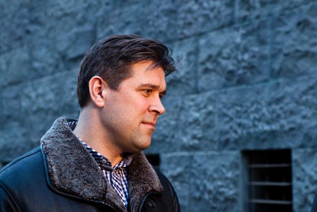Bjarn i Benediktsson formaður Sjálfstæðisflokksins.<br /><em>Ernir Eyjólfsson</em>