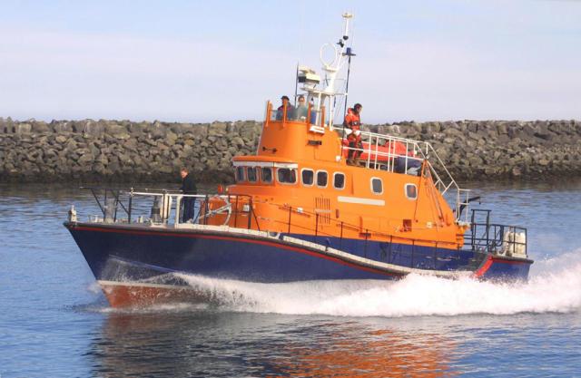 Björgunarskip Slysavarnafélagsins Landsbjargar á Rifi.